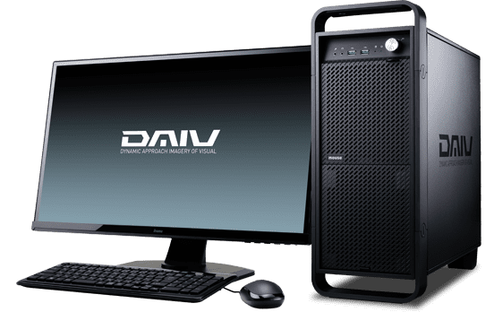 【マウスコンピューター/DAIV】DAIV Z7